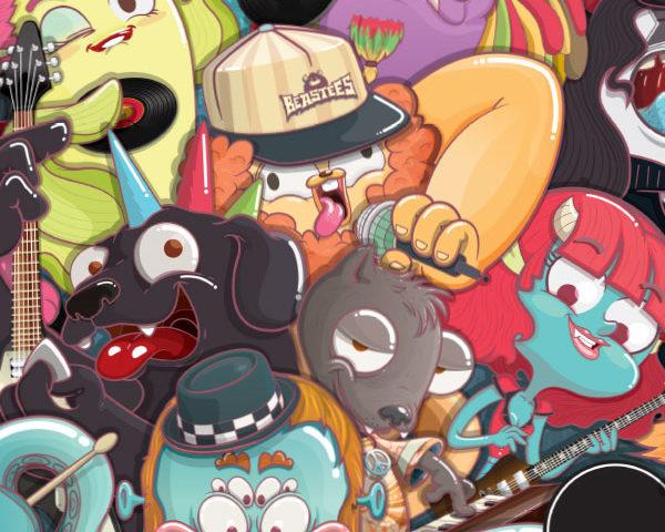 Monstropedia, rock y fantasía para niños